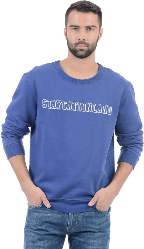 Gant Full Sleeve Printed Men Sweatshirt