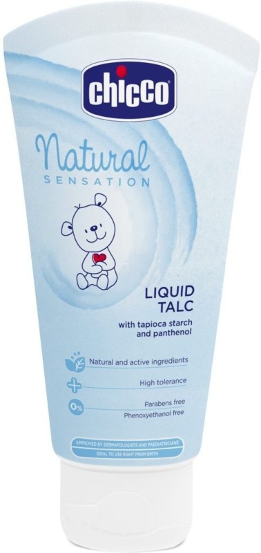 Chicco Chicco Natural Sensation Liquid Talc (Blue, 100ml)(100 g)