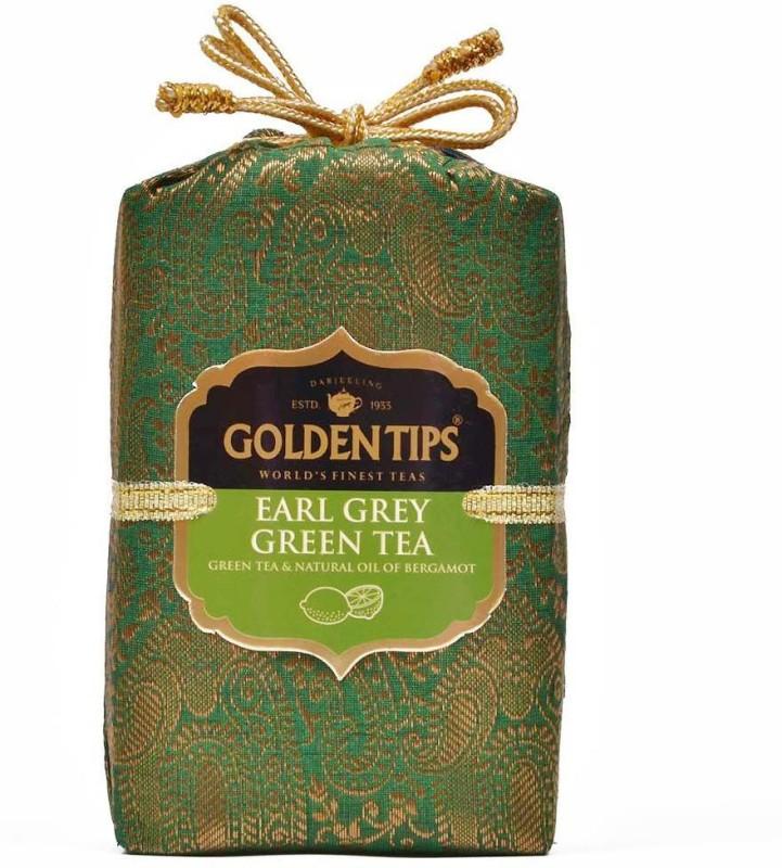 Golden Tips Earl Grey - Brocade Bag, 100g Green Tea(100 g, Box)