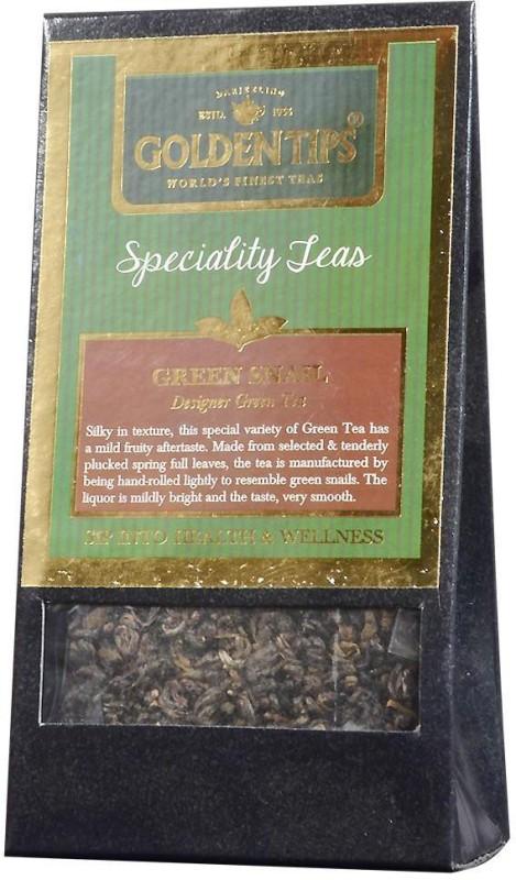 Golden Tips Green Snail Tea, 100g Green Tea(100 g, Box)