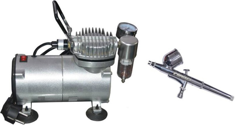 ISC High Quality Mini Compressor With Air Brush Airbrush
