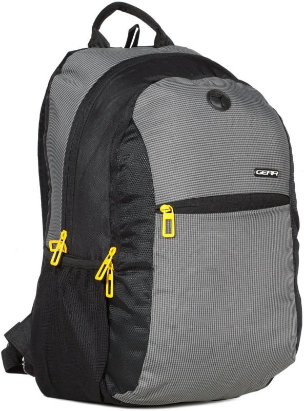 Gear ECO 1 BACKPACK 19 L Backpack(Black, Grey, Green)