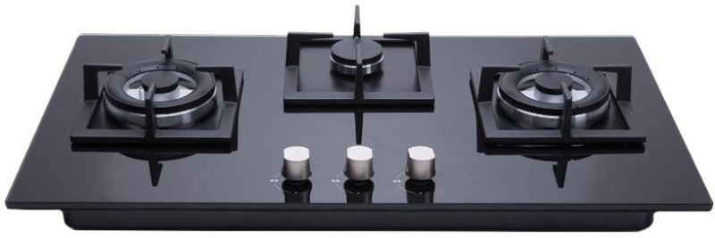 Hindware Glass Automatic Gas Stove(3 Burners)