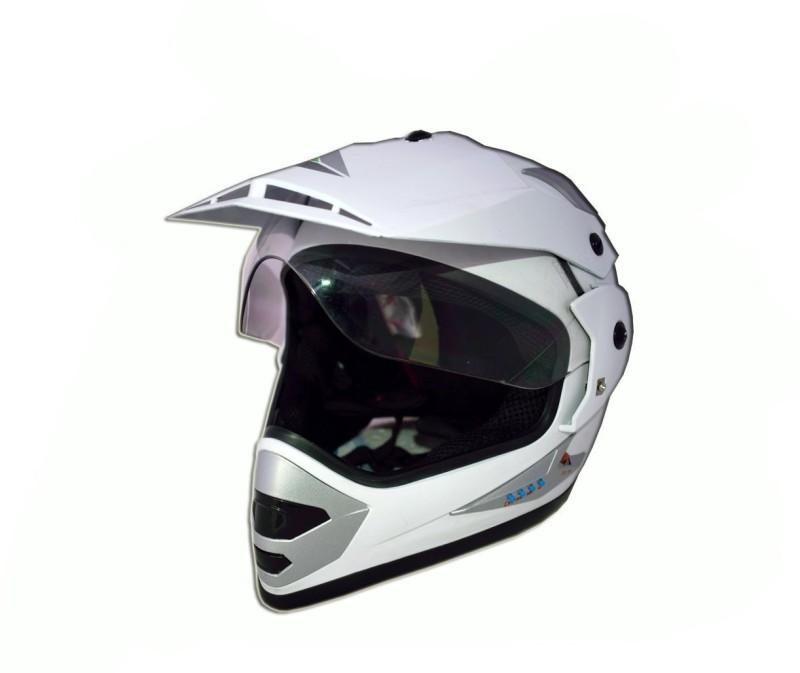 Greenstone MMWT-PLN Motorsports Helmet(White)