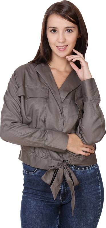 MansiCollections Full Sleeve Solid Womens Jacket