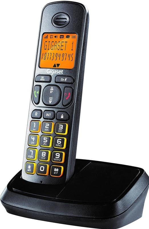 Gigaset A500 Cordless Landline Phone(Black)