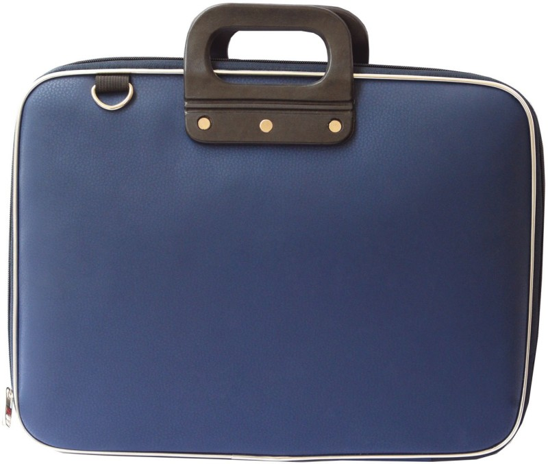 AirLeather 15.6 inch Laptop Messenger Bag(Blue)