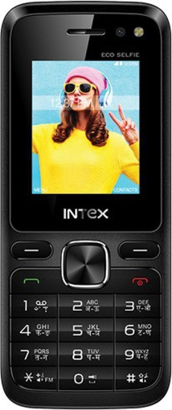 Intex Eco Selfie(Black) image
