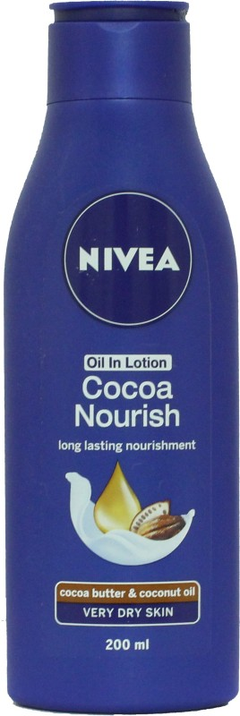 Nivea Oil In Lotion Cocoa Nourish for Very Dry Skin-200 Ml(200 ml)