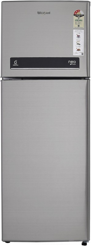 Whirlpool 265 L Frost Free Double Door Refrigerator(Illusia Steel, NEO...