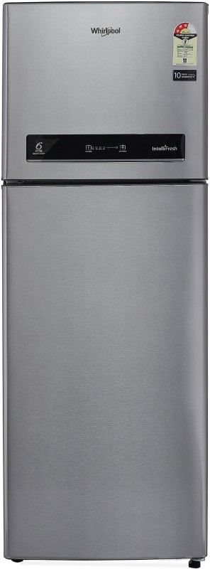 Whirlpool 265 L Frost Free Double Door Refrigerator(Alpha Steel, NEO IF278 ELT...