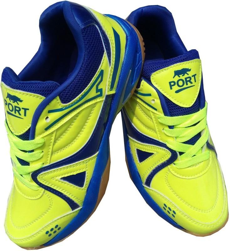 Port Womens Proud Green Badminton Shoes For Women(Green)