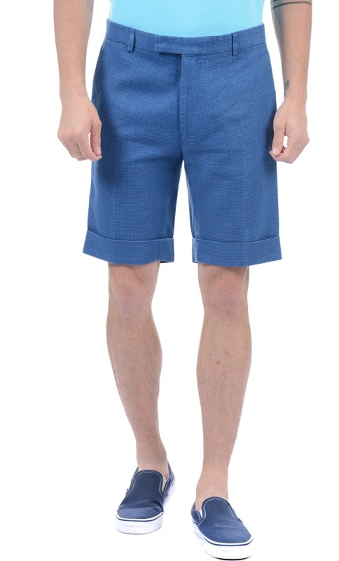 Gant Solid Men Blue Basic Shorts