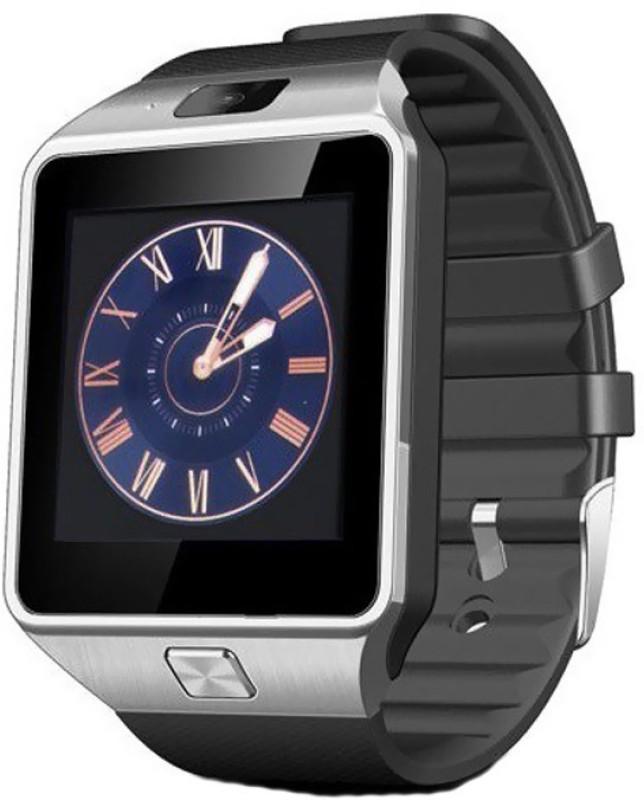 Delmohut DZ09 Bluetooth Smart Watch - Sim & Memory Slot - Camera - Android Ios For Sam_sung Galaxy S4 Mini Black Smartwatch(Black Strap Regular)