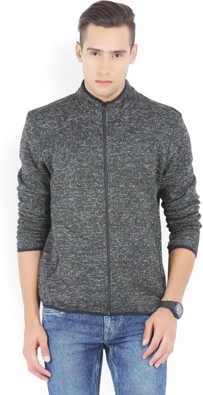 Numero Uno Full Sleeve Self Design Mens Sweatshirt