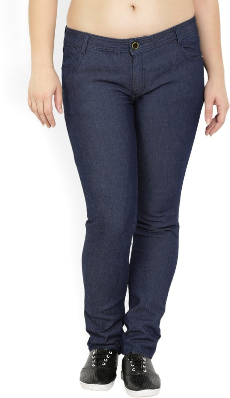 Van Heusen Skinny Fit Womens Blue Trousers