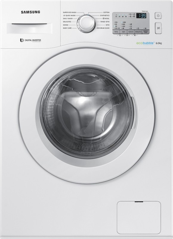 Samsung 6 kg Fully Automatic Front Load Washing Machine White(WW60M204KMA/TL)