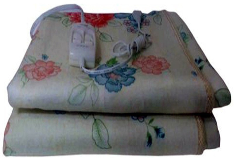 homelux Printed Single Electric Blanket White