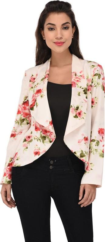 Purys Full Sleeve Floral Print Women's Jacket