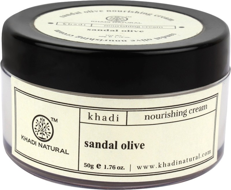 Khadi Natural Herbal Sandal Olive Nourshining Cream(50 g)