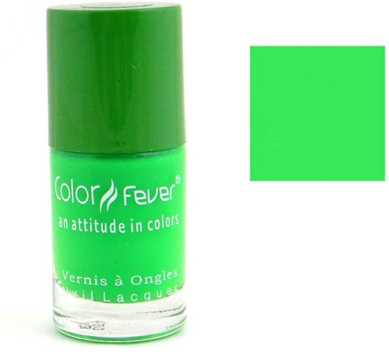 Color Fever Neon Nail Lacquer - Green Multicolor(9.5 ml)