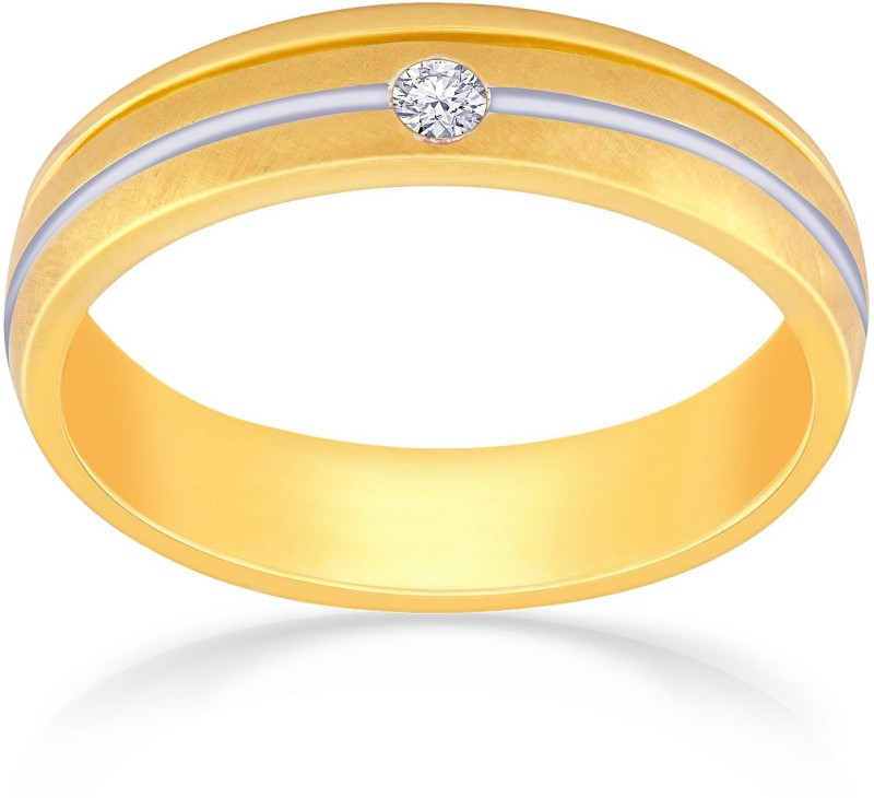Malabar Gold and Diamonds JIRR5095L_4 18kt Diamond Yellow Gold, White Gold ring