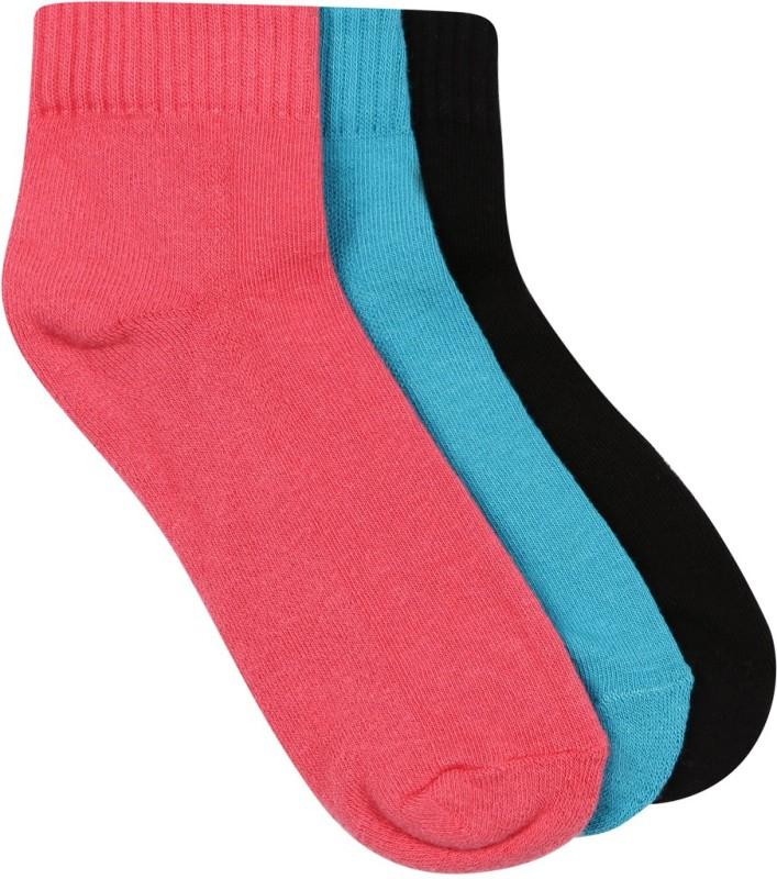 Wrangler Mens Solid Ankle Length Socks(Pack of 3)