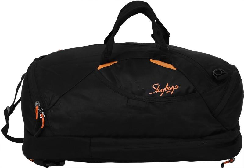 Skybags Flip 3 Way Duffel 45 L Backpack(Black)