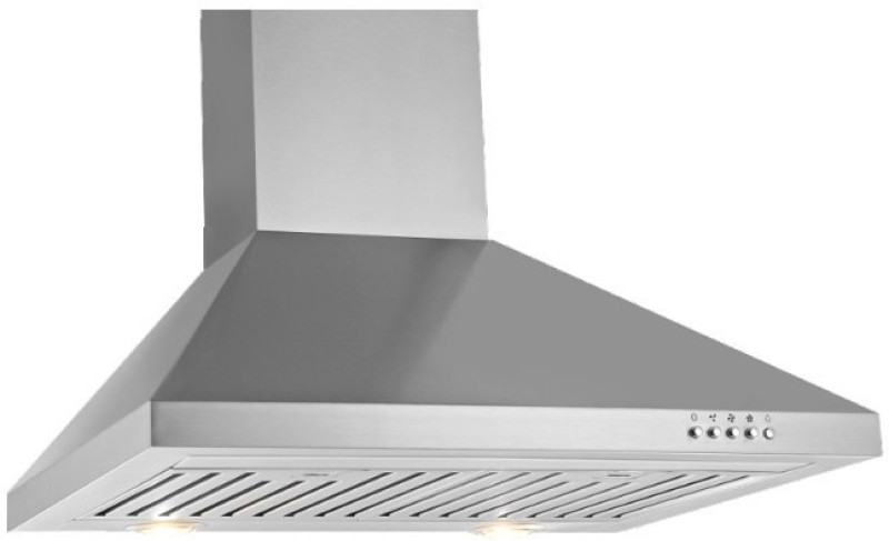 Sunflame venza ss Wall and Ceiling Mounted Chimney(silver 1100)