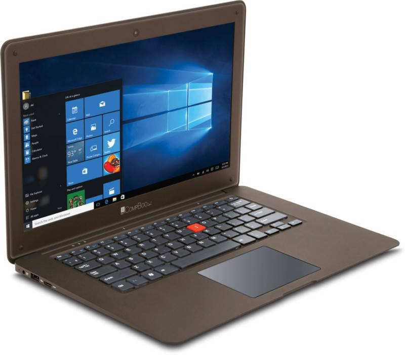 Iball C Series Atom - (2 GB/32 GB EMMC Storage/Windows 10) Compbook Laptop(11.6 inch, Brown) Excelance