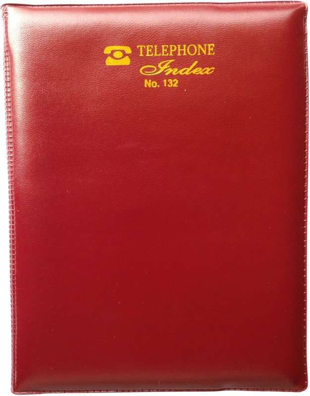 EXCEL Telephone Diaries Regular Telephone Diaries 180 Pages(Brown)