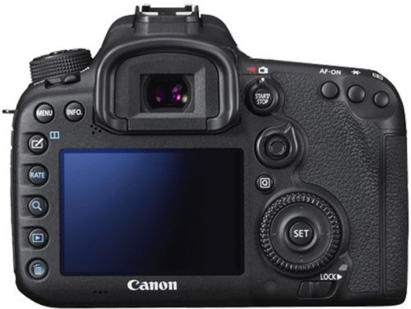 Canon EOS 7D Mark II Kit DSLR Camera EF-S18-135mm IS STM(Black)