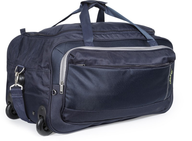 Skybags 25 inch/64 cm Cardiff (E) Duffel Strolley Bag(Blue)