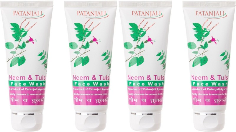 Patanjali Neem & Tulsi ( Pack of 4) Face Wash(60 g)