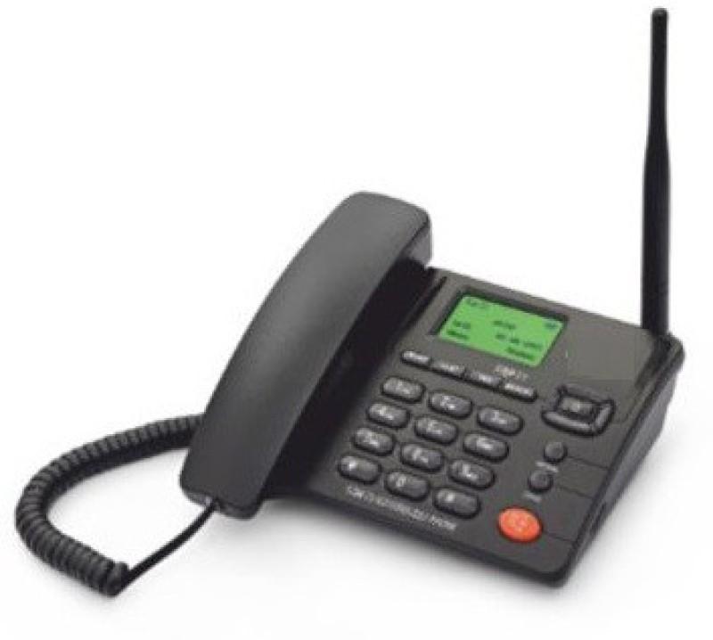 Beetel BEETEL-F-1 Cordless Landline Phone(Black)