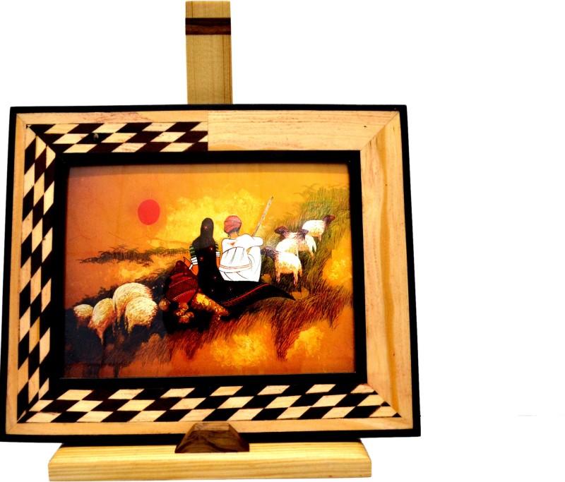 Just Frames Wood Photo Frame(Multicolor, 1 Photos)