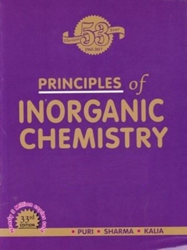 Principles Of Inorganic Chemistry(Paperback, Br Puri)