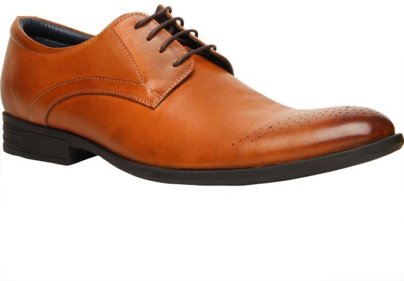 Hush Puppies By Bata LONDON DERBy Lace Up For Men(Tan)