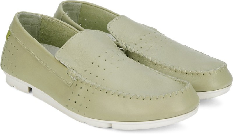 Clarks Trimocc Sun Sand Leather Loafers For Men(Beige)