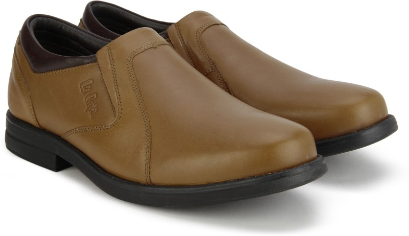 Lee Cooper Slip On shoes For Men(Tan)