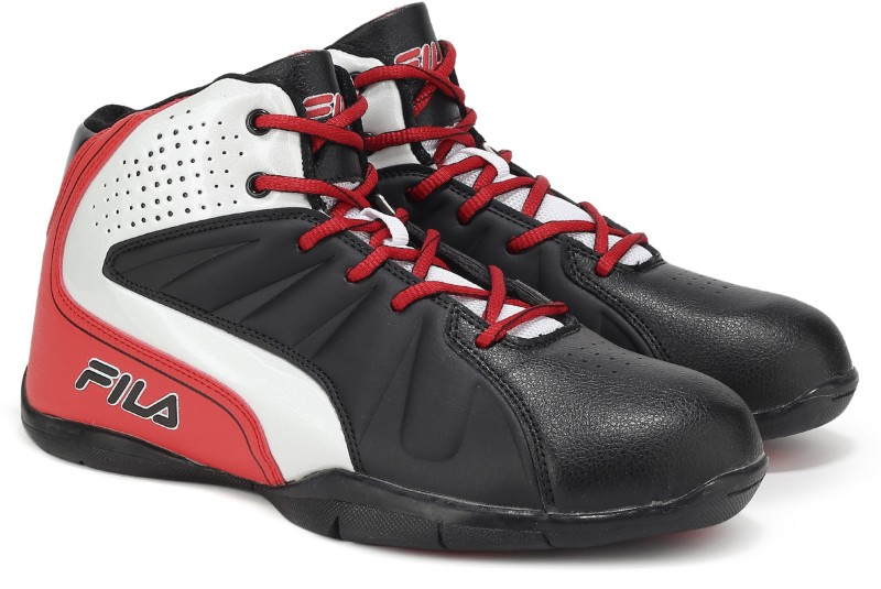 Fila REBOUND-3 BasketBall Shoes For Men(Black)
