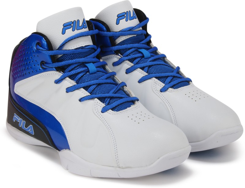 Fila REBOUND-3 BasketBall Shoes For Men(White)