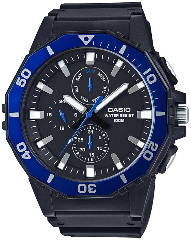 Casio A1237 Youth Analog Analog Watch - For Men