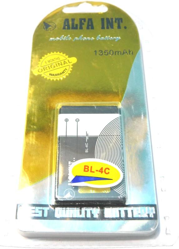 ALFA INT Battery - BL-4C ALFA Best Quality Battery(Black)