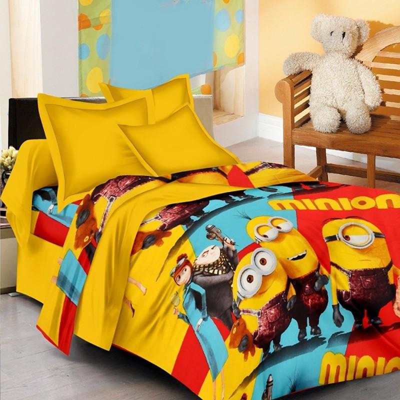 CraftsBazzar Cartoon Single Dohar Multicolor(AC Blanket, Set of 1 Blanket)