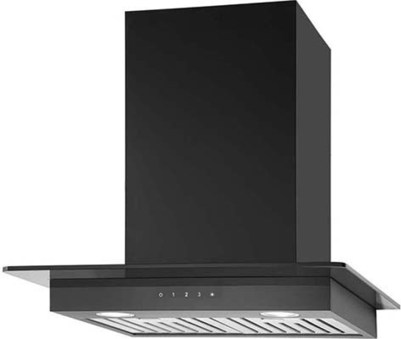 Kaff ASTRA DX BF-60 Wall Mounted Chimney(Black 1180)