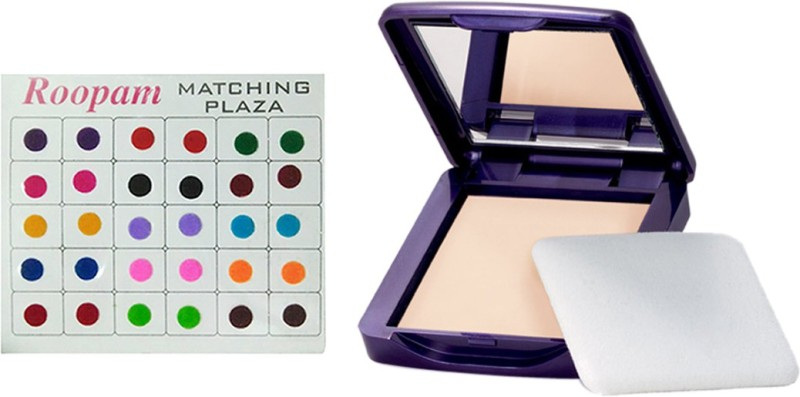 Oriflame Sweden Bindi with The One Illuskin Powder compact Spf 12 (Shade Light)(Set of 2)