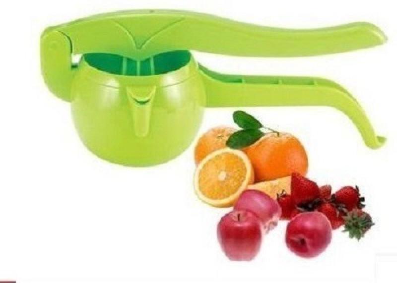 Mantavya Fruit Handy Juicer Plastic Hand Juicer(Green Pack of 1)