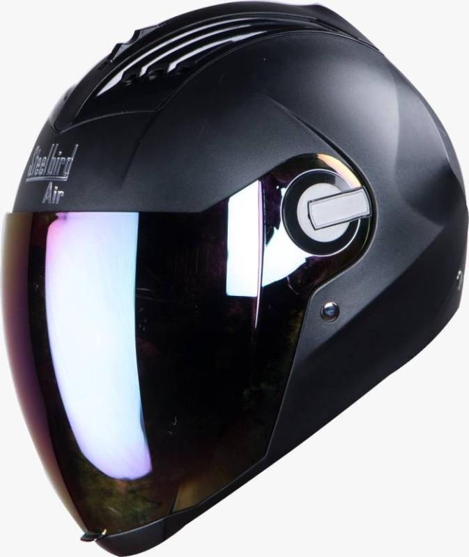 Steelbird SBA-2 SUPREME Motorbike Helmet(Black)