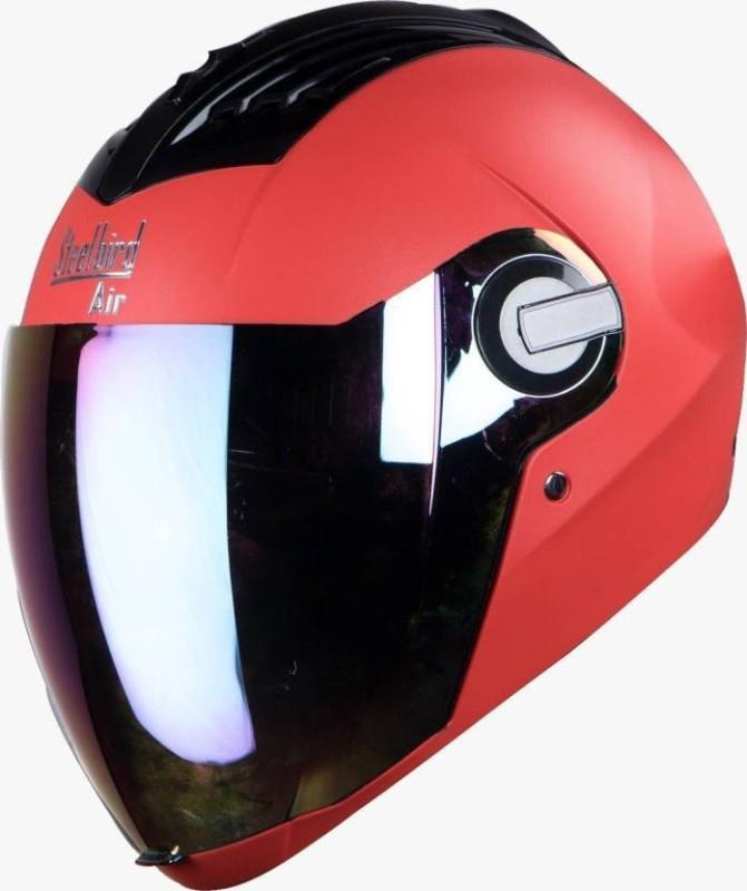 Steelbird SBA-2 SUPREME Motorbike Helmet(Red)